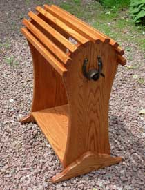 photo of saddle stand